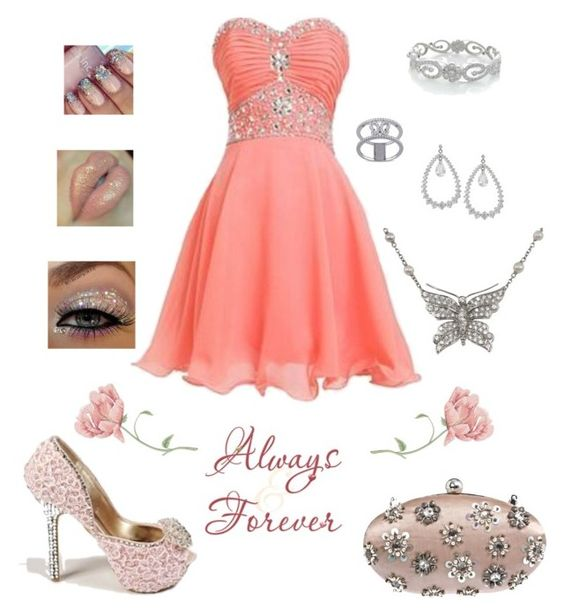 """""""Always Forever"""" by destinystarr772 ❤ liked on Polyvore featuring Miss Selfridge, Tiffany & Co., Bling Jewelry, Miadora and Lime Crime"""