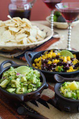 ... avocado tomatillo and more avocado mango black beans salsa black beans