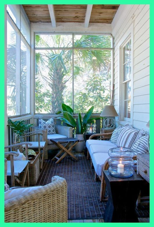 Shabby Chic Sunroom Relaxing And Radiant Escape Sunroom