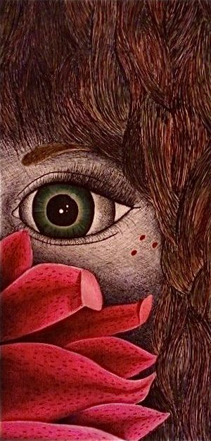 Sharpie and colored pencil -Haily Pinner