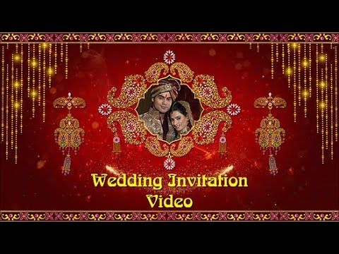 Best Indian Wedding Video Invitations Online Inviter Wedding Invitation Video Templates In 2020 Indian Wedding Video Wedding Video Wedding Invitation Video