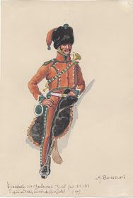 MINIATURAS MILITARES POR ALFONS CÀNOVAS: MANUSCRITO de MARCKOLSHEIM, (Nº 3),ilustrado por BOISSELIER, colección de Henry ACHARD.