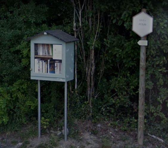 Boîte à livres- Malonne