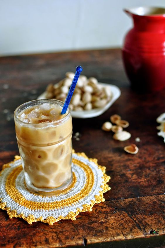 Toasted Coconut Cold Brew Horchata (Dairy-Free) Recipe
