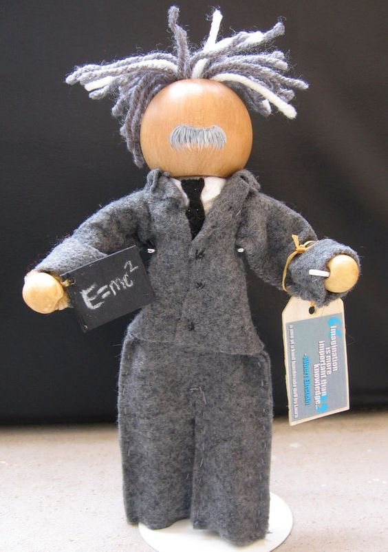I want this for my Einstein collection. Unique and handmade