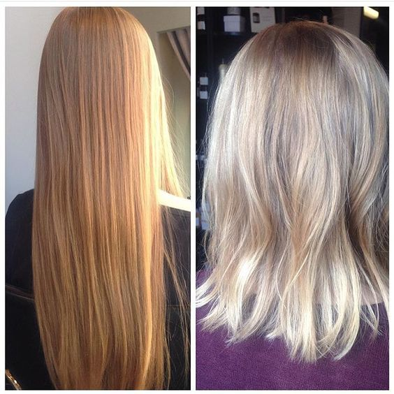 Just a trim! This cool blonde lob is brought to you by Terri #pureformsalon #yyc #hair #haircut #colour #hairstyle #beauty #lob