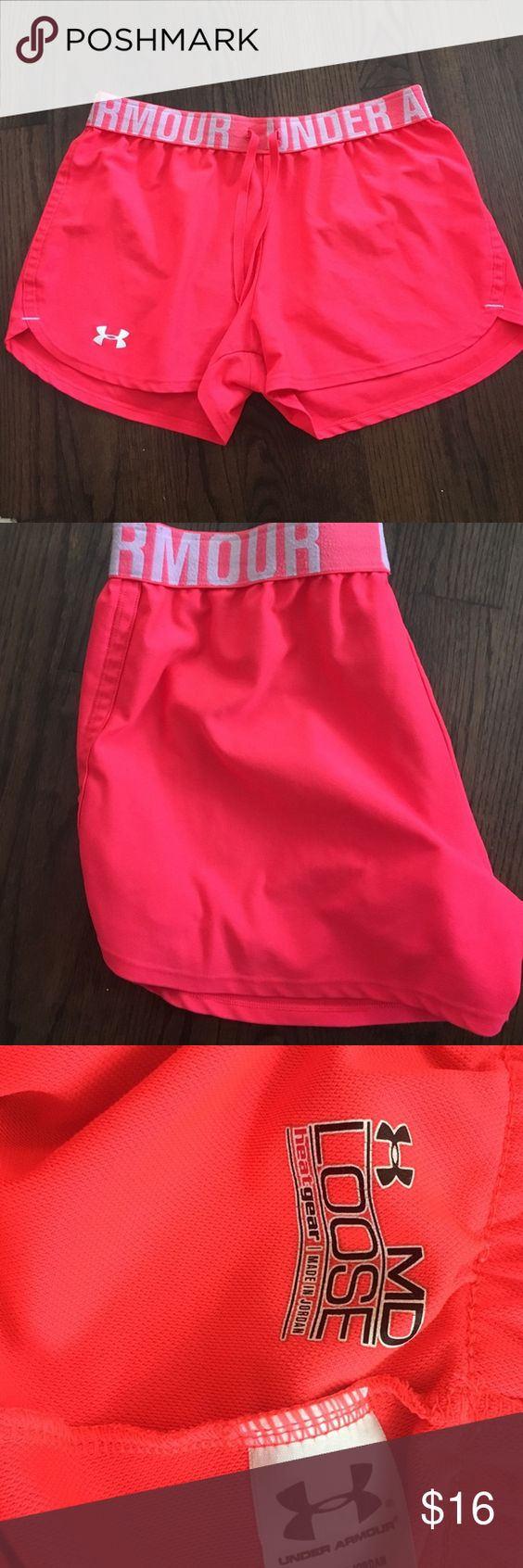 Hot Pink Under Armour shorts Hot Pink Under Armour shorts Under Armour Shorts