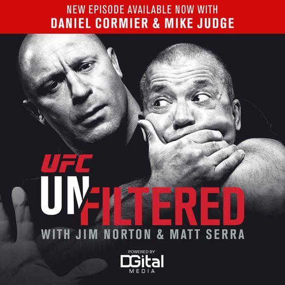 UFC Unfiltered: Daniel Cormier and Mike Judge : Hombres Mag For Men | MoreSmile