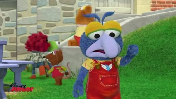 Gonzo mostró un lado nunca antes visto en su capítulo   Foto: YouTube Disney Jr.