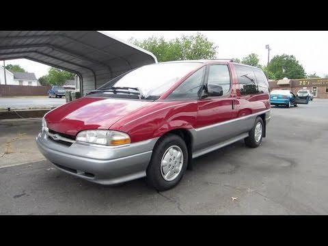1996 Chevrolet Lumina Apv Start Up Engine And In Depth Tour