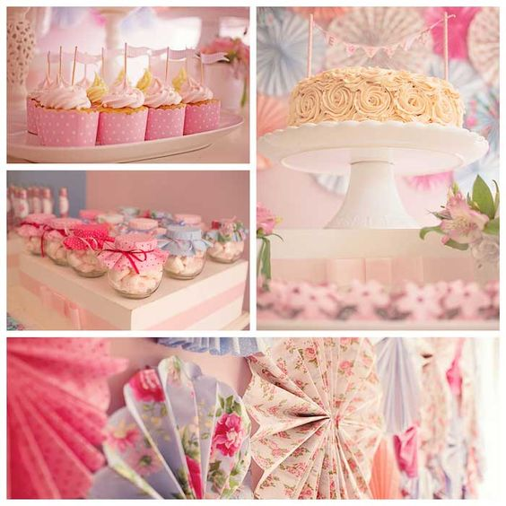 Sweet Pink 1st birthday party with Such Precious Ideas via Kara' s Party Ideas Full of cute decorating ideas, cakes, desserts, printables, r...