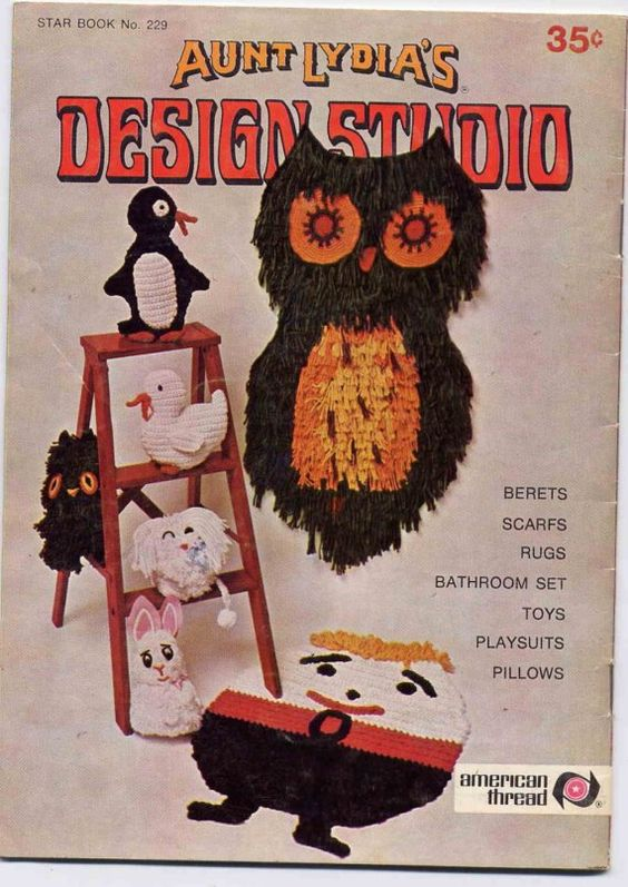 Crafts Aunt And 1960s On Pinterest