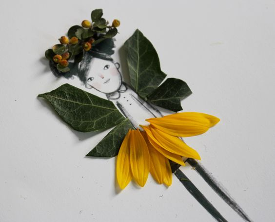 Nature paper, Paper dolls and Nature