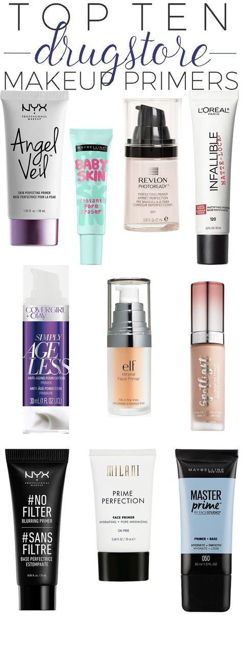 Top 10 Drugstore Makeup Primers