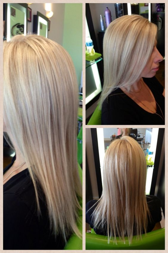 Highlights and cut by Dava at The Chameleon Salon in Clarksville, TN.