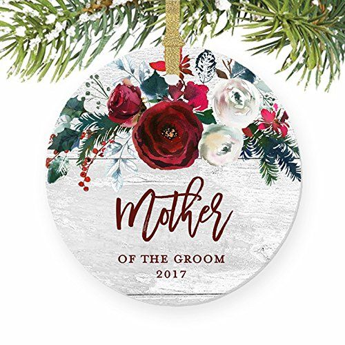 Mother Of The Groom Ornament Wedding Christmas Ornament 2017 Farmhouse Christmas Ornaments Wedding Christmas Ornaments Farmhouse Christmas Stockings