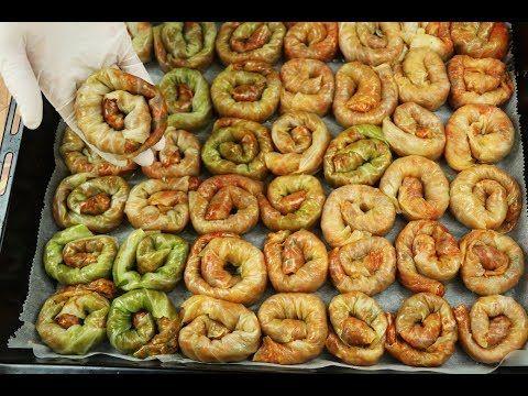 محشي الملفوف بطريقة تركية بالفيديو Mediterranean Recipes Meat Recipes Food