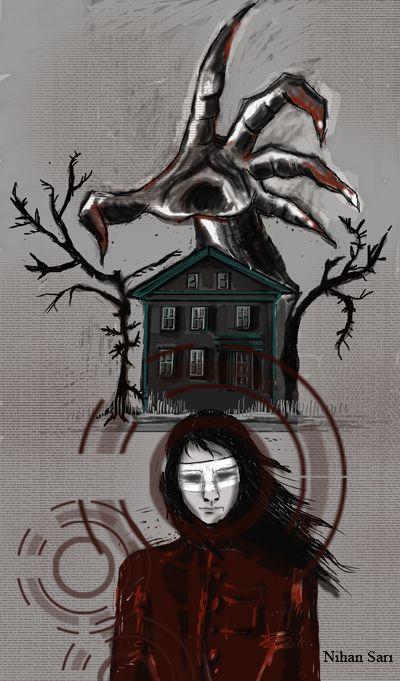 Editorial.Josh Malerman Bird Box illustration for Sabitfikir mag.