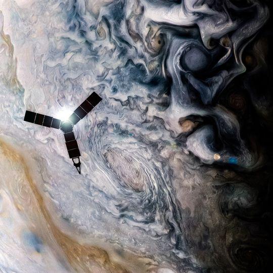 木星探査機ジュノー