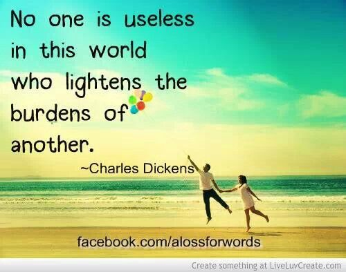 No one is useless
