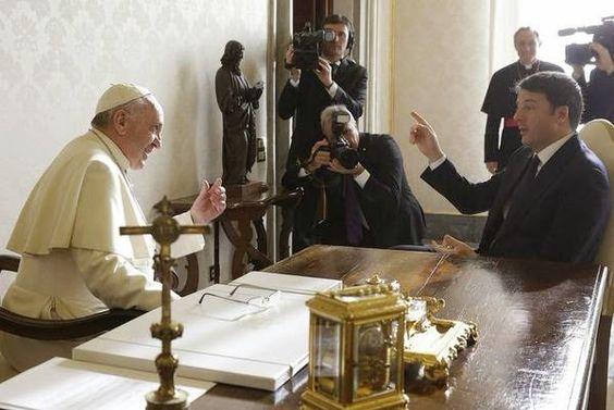 SCRIVOQUANDOVOGLIO: IL PAPA RICEVE IL PRESIDENTE NON ELETTO DEL CONSIG...