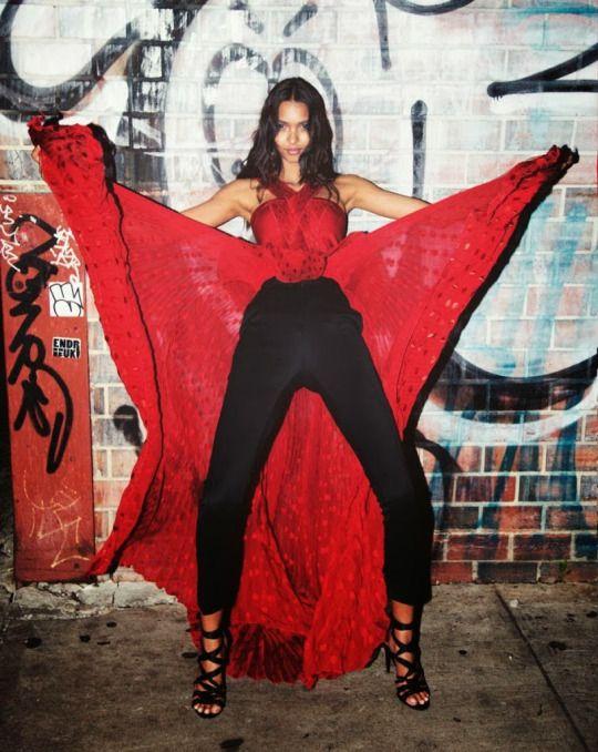 Lais Ribeiro - Flaunt Magazine November 2013