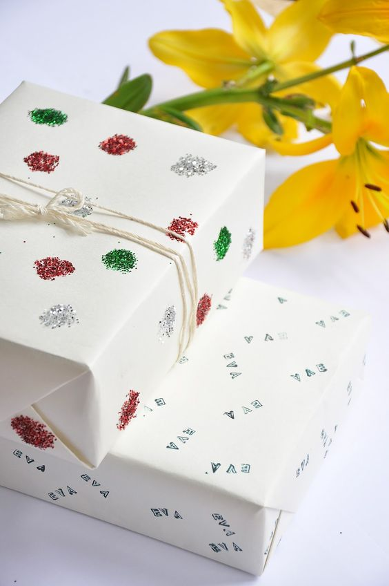Tired of wrapping your gifts in the same-old same-old storebought gift wrap? We love these 12 DIY ideas from crafty bloggers.