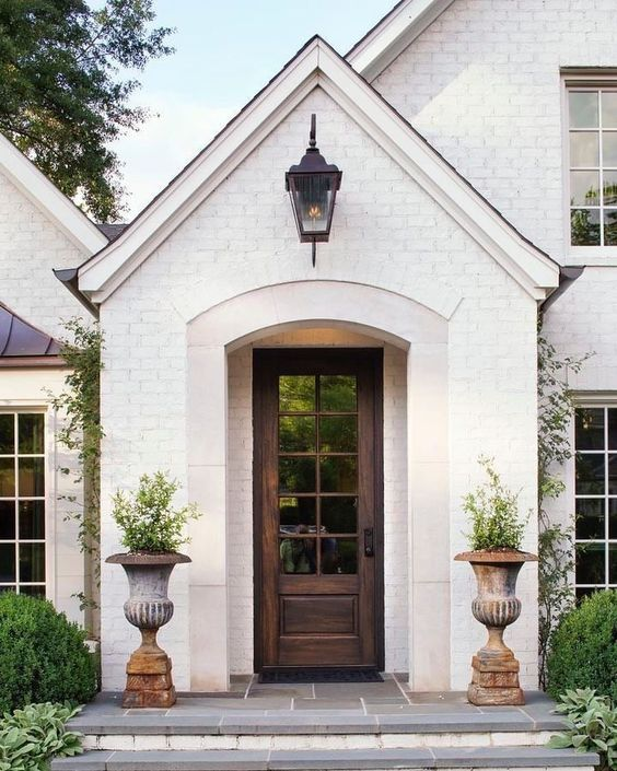 8 Leanne Ford Paint Colors Designer Favorites From Ppg Brick Exterior House White Exterior Houses Painted Brick House