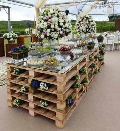 Mesa de botanas - salado