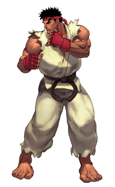 SF3 Ryu (in hi-res and animated)