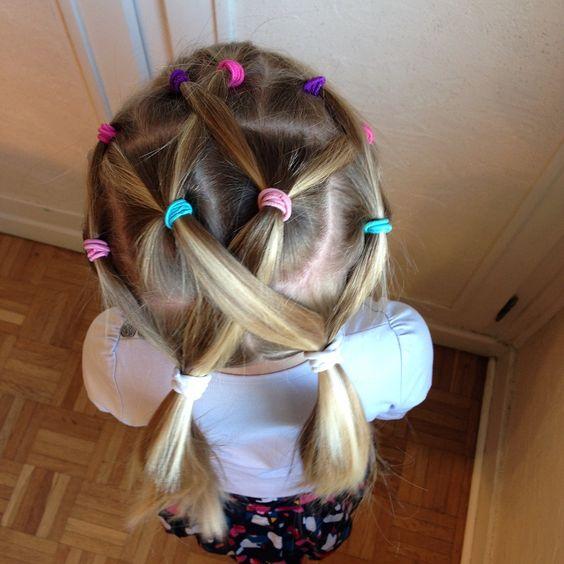 Une girly un jour une coiffure 15 minutes pour une coiffure facile et sympa coiffure for Comidee coiffure petite fille