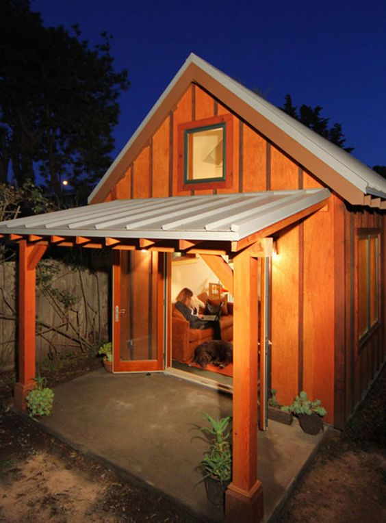 Tiny Houses, Backyard Cottages, and Other Micro Dwellings Casita - patios traseros