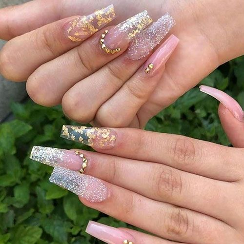 65 Best Coffin Nails Short Long Coffin Shaped Nail Designs For 2020 In 2020 Pretty Acrylic Nails Coffin Shape Nails Best Acrylic Nails