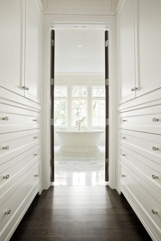 Upstairs hallway, Walk in and Closet on Pinterest
