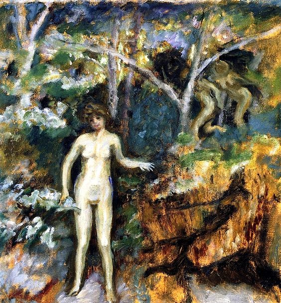 Daphnis and Chloe / Pierre Bonnard - circa 1900-1902