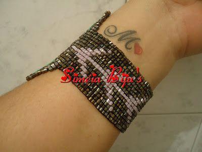 Siméia Biju's: Bracelete borboleta
