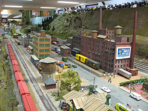 Nice Industrial siding with old & new buildings | HO Model ...