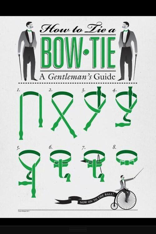Guía gráfica de cómo anudar un moño