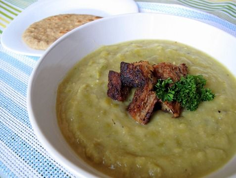 ... croutons | yummy in my tummy | Pinterest | Split Peas, Pea Soup and