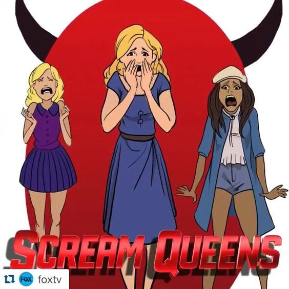 #Regram from @foxtv! #ScreamQueens ・・・ Our creators' series continues with FOX's new fall lineup of shows, reimagined by our friends at @BrazenAnimation.  FOLLOW: @MinorityReport • @ScreamQueensFOX • @RosewoodFOX • @TheGrinderFOX • @Grandfathered