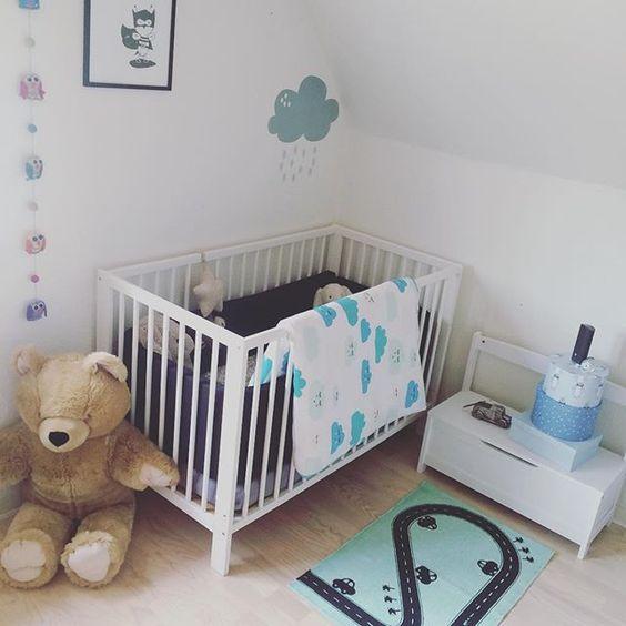 Mini's soveværelse ✌   #børneværelse #drengeværelse #farver ...