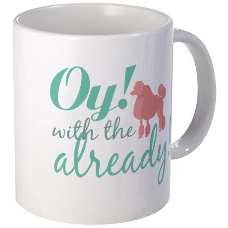3-oypoodles copy Mugs: