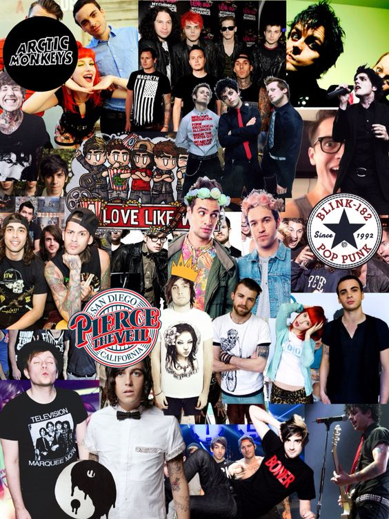 Bands collage ~
