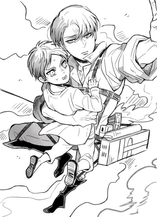 Eren and Levi // AoT