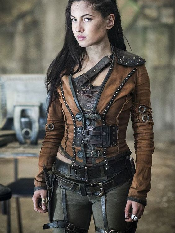 Eretria Shannara Chronicles Leather Jacket