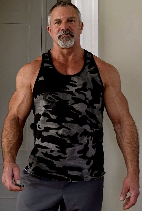 """planesdrifter: """"Follow planesdrifter: trueTHAT if you're an admirer of older, hairy natural and muscular men. Check it out and the archive too or the live cams. """""""
