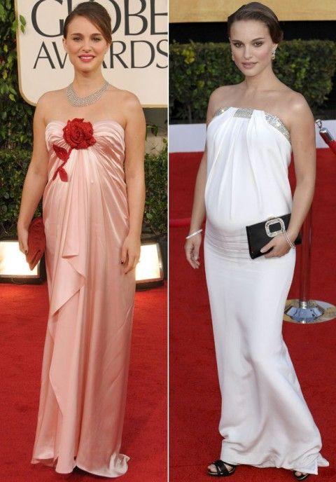 Natalie Portman - Stylish Celebrity Baby Bumps