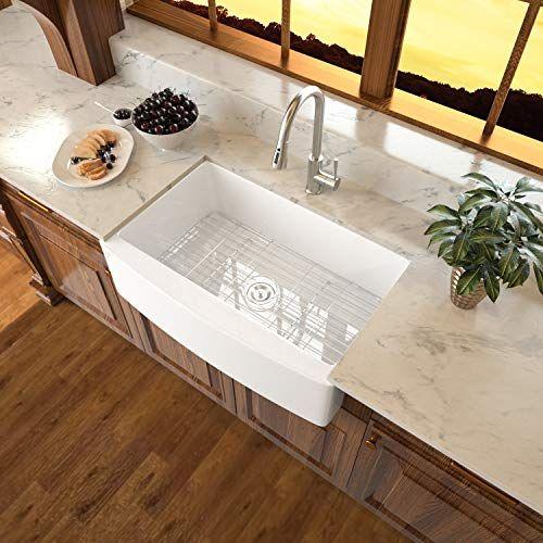 32+ White ceramic farm sink model