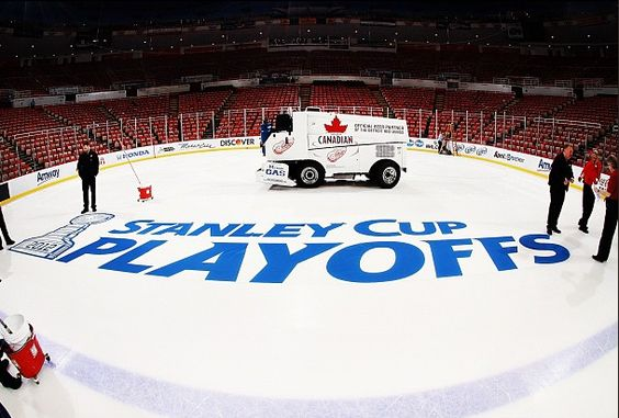 Getting ready for the 2012 Stanley Cup Playoffs.