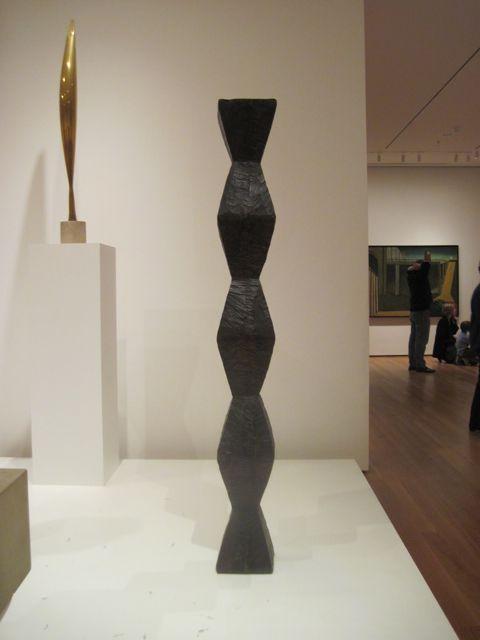 brancusi pedestal google search sculpture wood